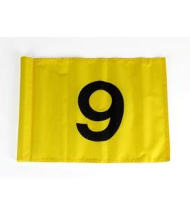 9 BANDERAS Nº 1-9 POLACE