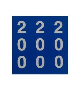 PEGATINAS MARCADORES PVC 200