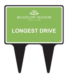 LONGEST DRIVE SIGN