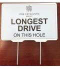LONGEST DRIVE TEE SIGN
