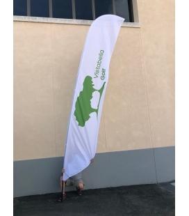 BEACH FLAG VELA 350-S