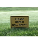 REPAIR BALL MARKS