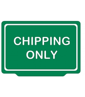 CHIPPING ONLY