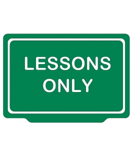 LESSONS ONLY
