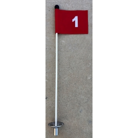 1 PUTTING GREEN STICK...