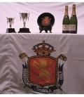 Banderas, Manteles con Logo